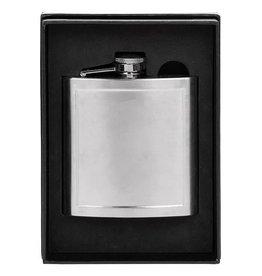Hip Flask Matt Panel Small 6oz