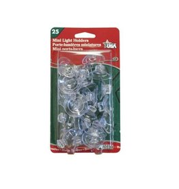 ADAMS LIGHT HOLDERS FOR WINDOWS (25 SUCTION CUPS)