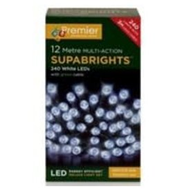 PREMIER 240 LED M-A INDOOR-O-D SUPA BRIGHTS ICE WHITE 5CM+3M