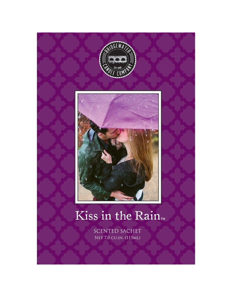 BRIDGEWATER KISS IN THE RAIN FRAGRANCE SACHET