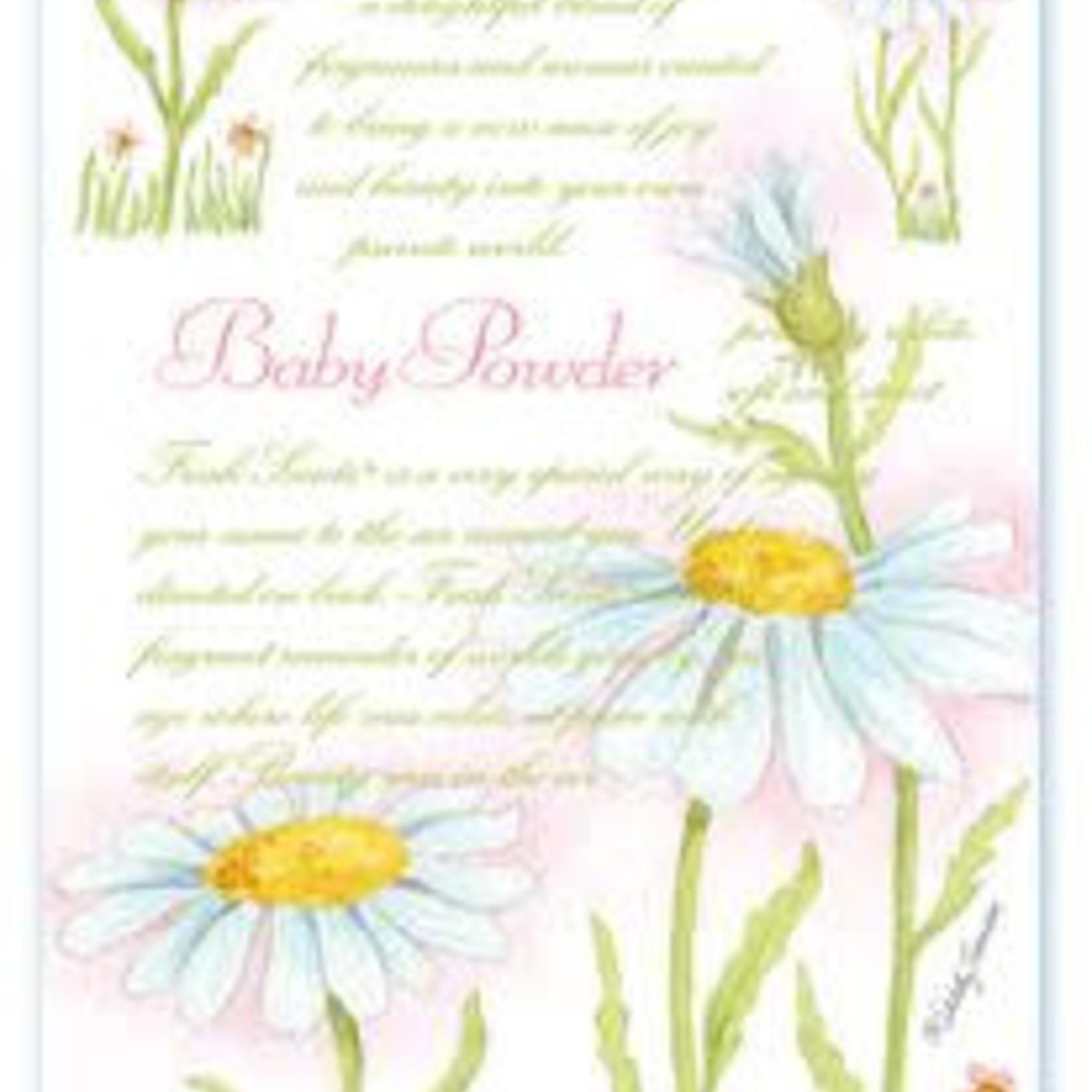 WILLOWBROOK BABY POWDER FRAGRANCE SACHET