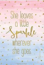 SPARKLE WHEREVER SHE GOES FRAGRANCE SACHET