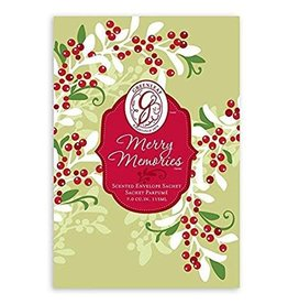 GREENLEAF MERRY MEMORIES SCENTED SACHET
