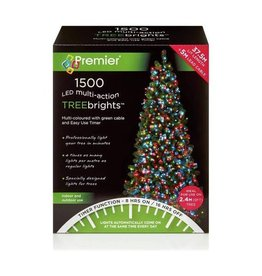 Premier 1500 M-A Led TreeBrights Timer Multi colour