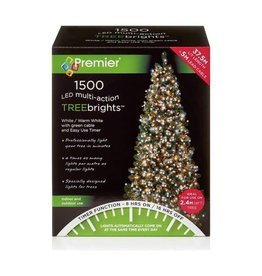 Premier 1500 M-A Led TreeBrights Timer White Warm White Mix