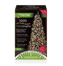 Premier 1000 M-A Led TreeBrights Timer White Warm White Mix