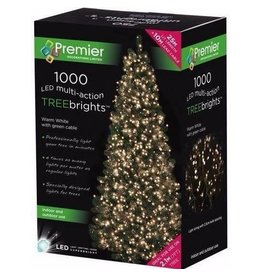 1000 M-A Led TreeBrights Timer Warm White