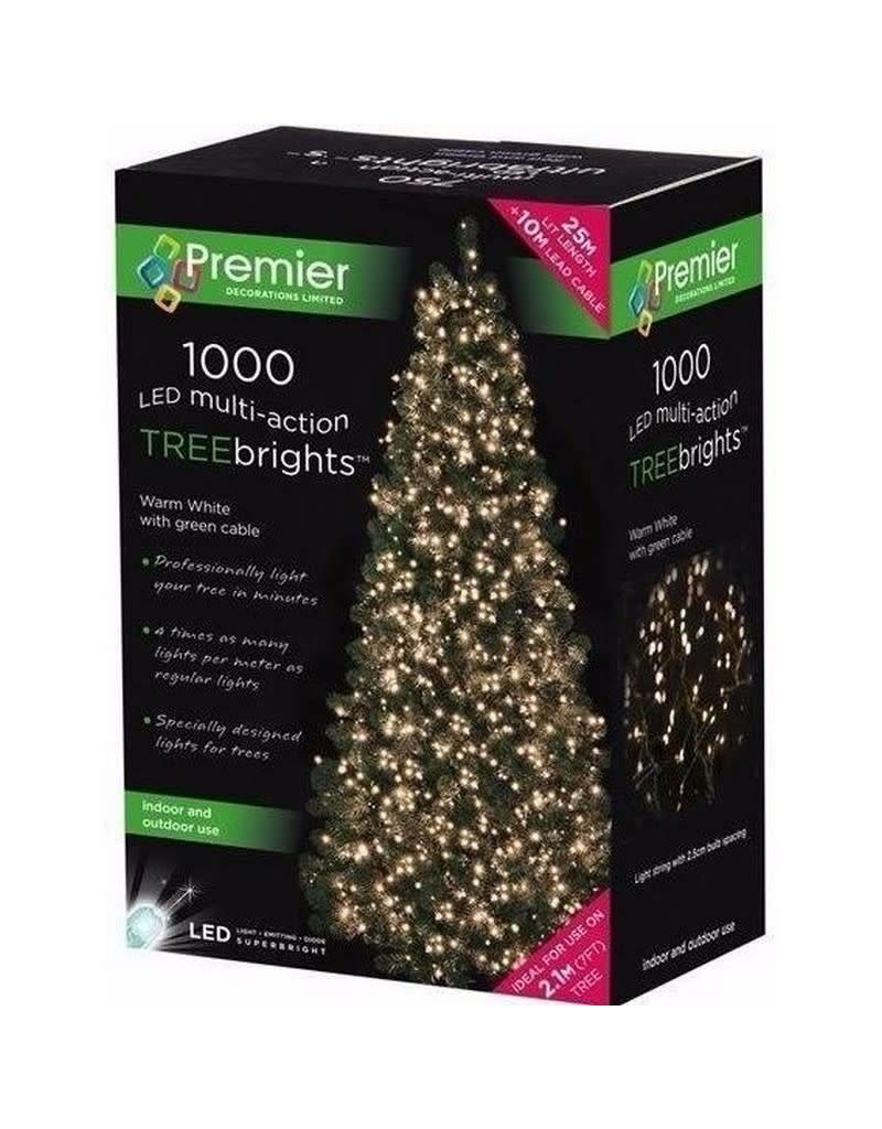 Premier 1000 M-A Led TreeBrights Timer Warm White