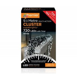 Premier 720 M-A LED Clusters Timer W White