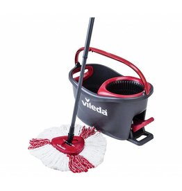 VILEDA TURBO MICROFIBRE SPINNING MOP SET
