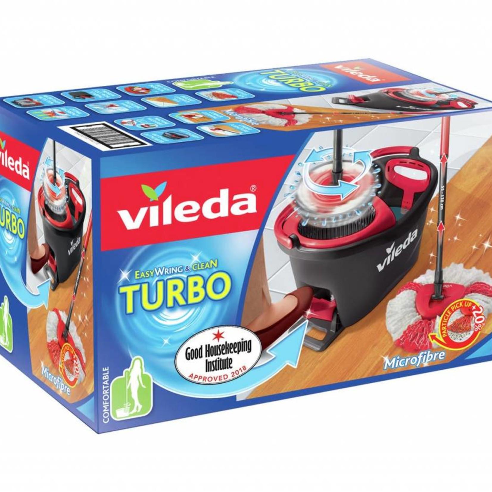 Vileda VILEDA TURBO MICROFIBRE SPINNING MOP SET