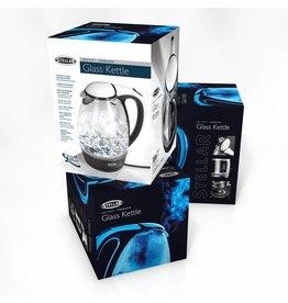 STELLAR 1.7L GLASS KETTLE, 3000W