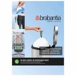 Brabantia BRABANTIA PERFECTFIT BAGS G, 30 LITRE [DISPENSER PACK OF 40 BAGS]