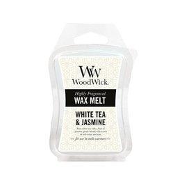 Woodwick WOODWICK WW WHITE TEA AND JASMINE MINI WAX MELT
