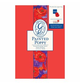 GREENLEAF LG SACHET - PAINTED POPPY - SACHET