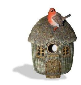 Vivid Arts VIVID ARTS BC WICKER BIRD HOUSE SIZE D