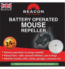 Rentokil RENTOKIL BATTERY OPERATED MOUSE REPELLER