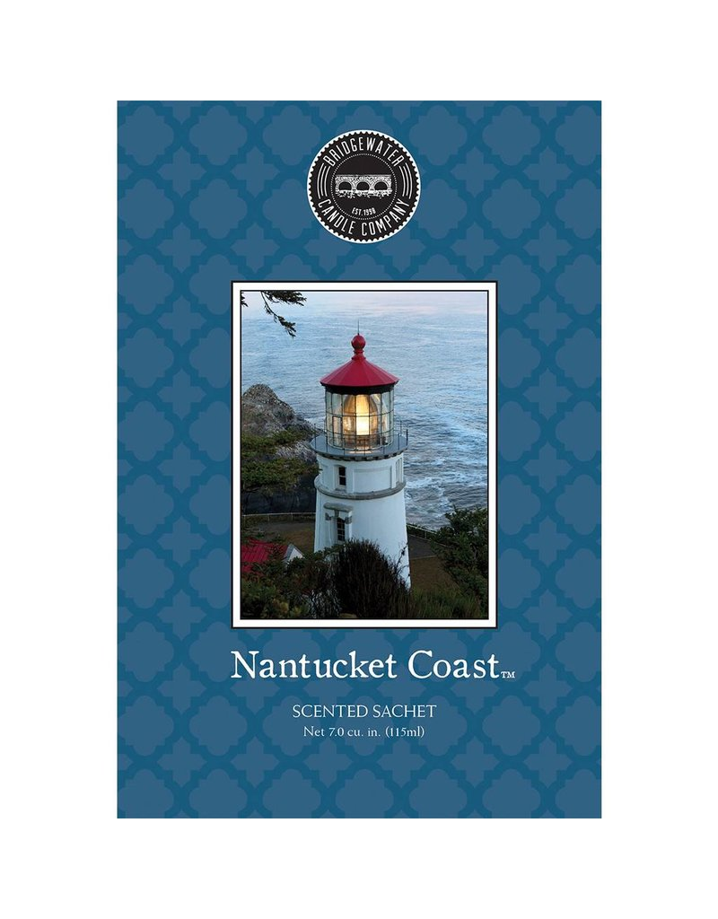 BRIDGEWATER NANTUCKET COAST SCENTED ENVELOPE SACHET