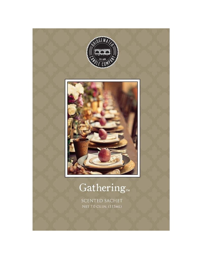 BRIDGEWATER GATHERING SCENTED ENVELOPE SACHET