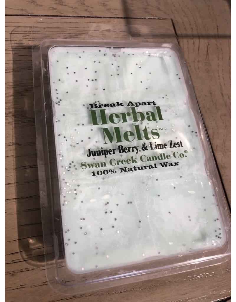 Swan Creek Swan Creek Herbal Melt Juniper Berry and Lime Zest