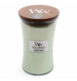 Woodwick WOODWICK CUCUMBER MELON LARGE CANDLE