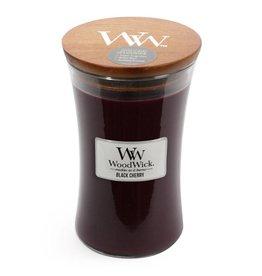 Woodwick WOODWICK BLACK CHERRY LARGE CANDLE