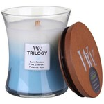 Woodwick WOODWICK FRESH & CLEAN - MEDIUM JAR (BABY POWDER. PURE COMFORT. PARADISE BLUE)