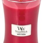 Woodwick WOODWICK RADISH & RHUBARB - HOURGLASS LARGE