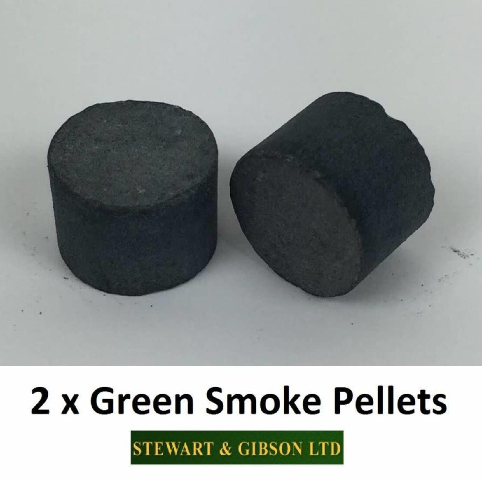 LARGE GREEN SMOKE PELLETS