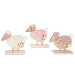 Easter Fun Woolly Stand Sheep