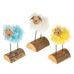 Easter Fun Fluffy Stand Lamb Assorted