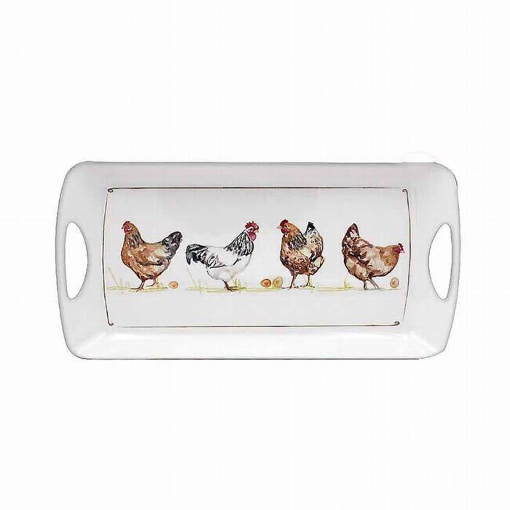 Country Life Chickens Sandwich Tray