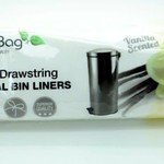 ECOBAG 30L DRAWSTRING PEDAL BIN LINERS VANILLA SCENTED 25 BAGS