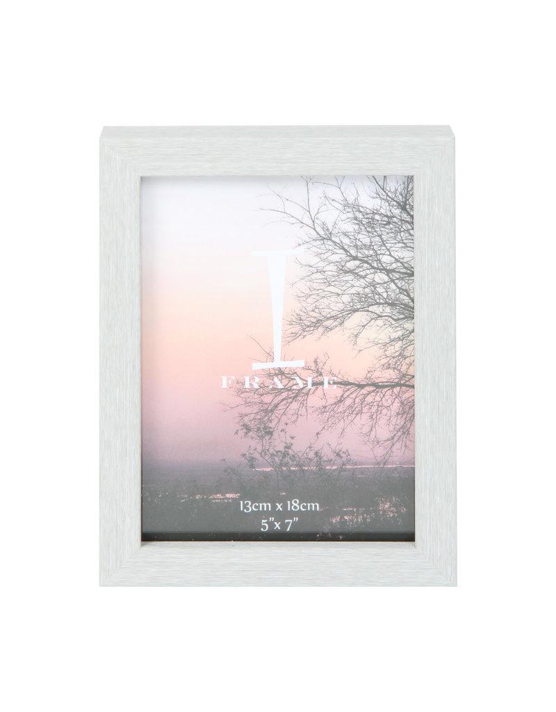 "iFrame Plastic Grey Photo Frame 5"" x 7"" (18)"