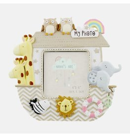 "Noah's Ark Resin Photo Frame 3"" x 3"""