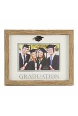 "Natural Wood Effect Frame 6""x 4"" - Graduation (GRAD2)"