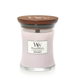 Woodwick WOODWICK WILD VIOLET MEDIUM JAR