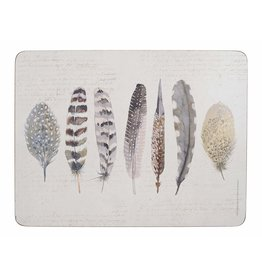 CREATIVE TOPS PREMIUM FEATHERS PACK OF 6 MATS