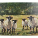 Kitchen Craft CREATIVE TOPS PREMIUM SHEEP PACK OF 6 STANDARD PLACEMATS