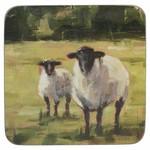 Kitchen Craft CREATIVE TOPS PREMIUM SHEEP PACK OF 6 STANDARD COASTERS