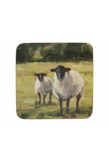 CREATIVE TOPS PREMIUM SHEEP PACK OF 6 STANDARD COASTERS