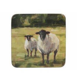 CREATIVE TOPS PREMIUM SHEEP PACK OF 6 STANDARD COASTERS