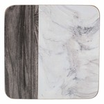 Kitchen Craft CREATIVE TOPS MARBLE PACK OF 6 COASTERS