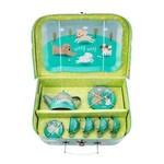 Sass & Belle PUPPY PLAYTIME PICNIC BOX TEA SET