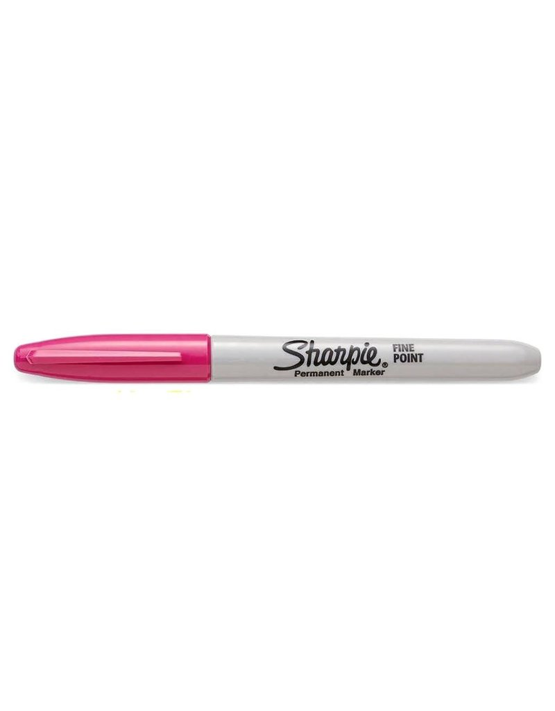 Sharpie Permanent Marker Fine Point Pink