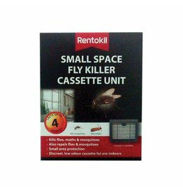 Rentokil RENTOKIL SMALL SPACE FLY KILLER CASSETTE UNIT TWIN PACK