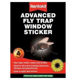 Rentokil RENTOKIL WINDOW FLY TRAP 4'S