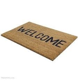 JVL JVL WELCOME PVC COIR MAT 33.5X60CM DOOR MAT
