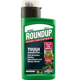 ROUNDUP ULTRA TOUGH WEEDKILLER SUPER CONCENTRATE 500ML
