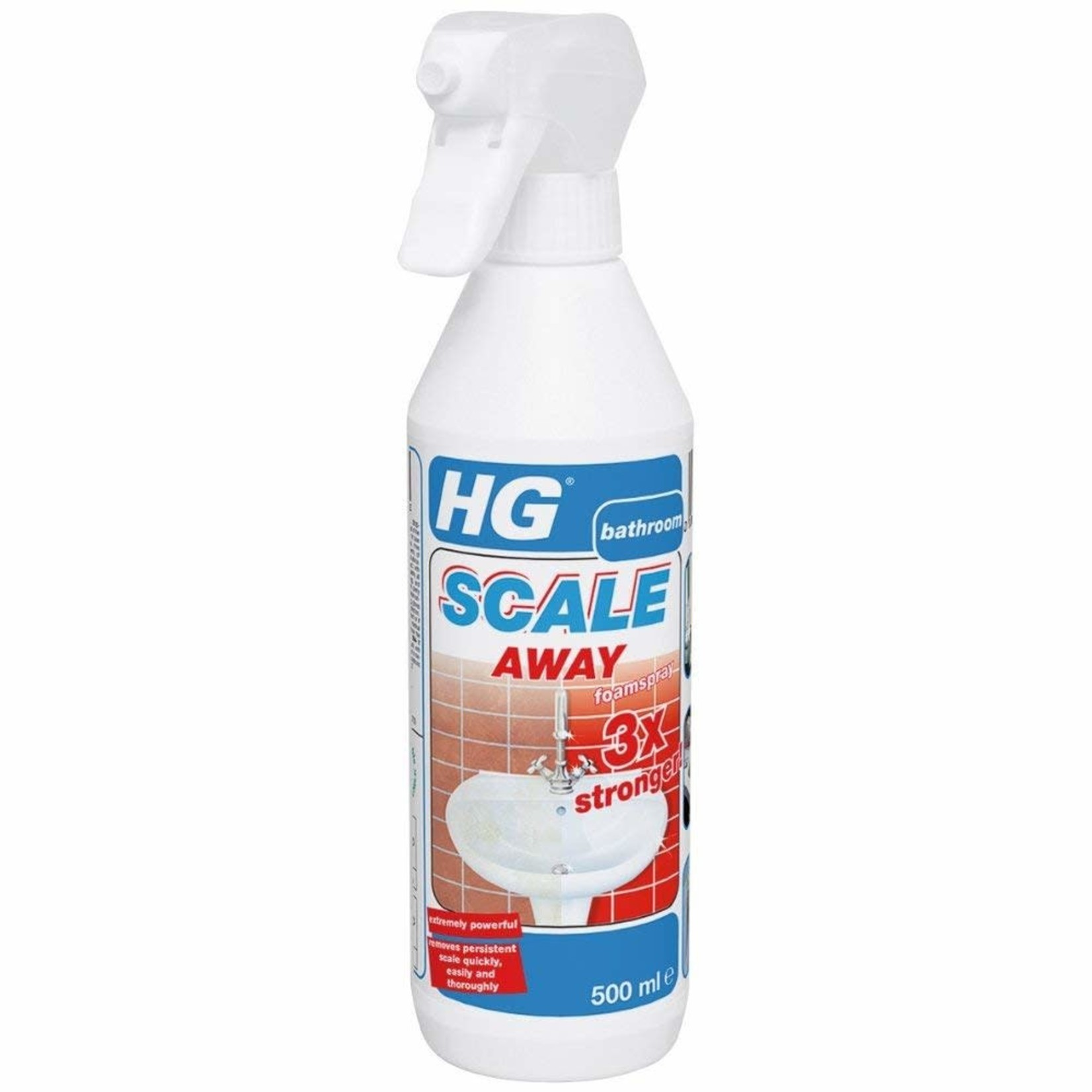 HG HG SCALE AWAY 3X STRONGER FOAM SPRAY BATHROOM